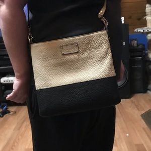 Kate Spade cross body black and white.